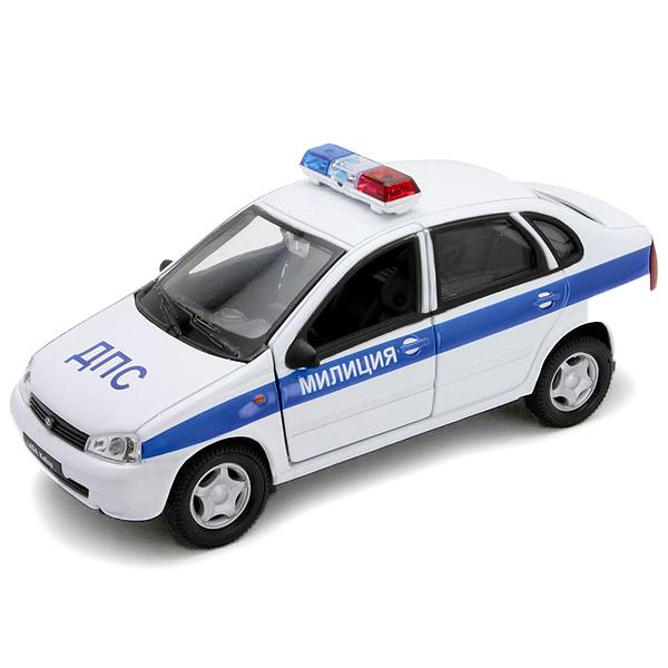 Купить Welly 42383PB Велли Модель машины 1:34-39 LADA Kalina МИЛИЦИЯ ДПС, Машинка Welly