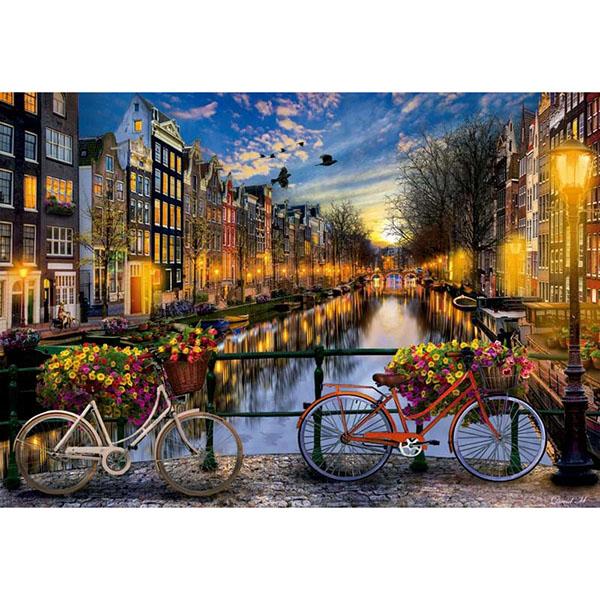 Купить Educa 17127 Пазл 2000 деталей Амстердам , Пазлы Educa