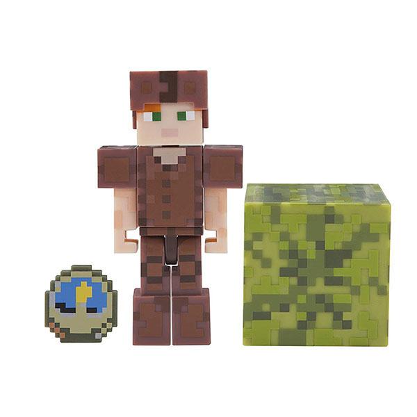 Купить Minecraft 19975 Майнкрафт фигурка Alex in Leather Armor, Минифигурка Minecraft