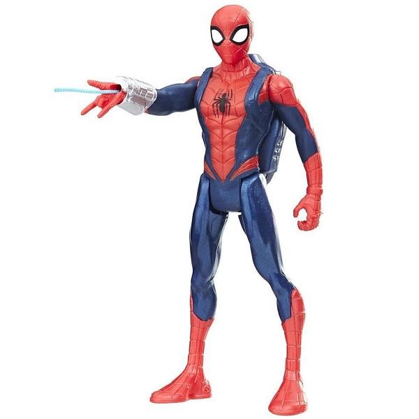 Hasbro Spider-Man E0808/E1099 Человек-Паук с аксессуарами, арт:155203 - Фигурки, Игровые наборы