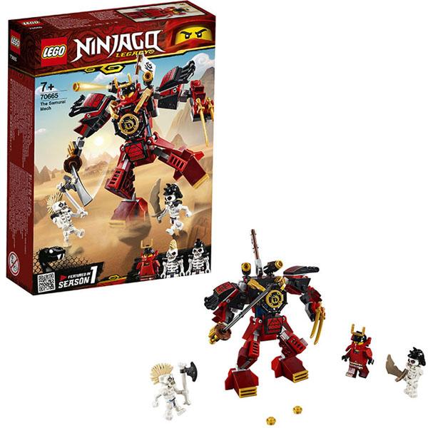 Конструкторы LEGO — LEGO Ninjago 70665 Конструктор ЛЕГО Ниндзяго Робот-самурай