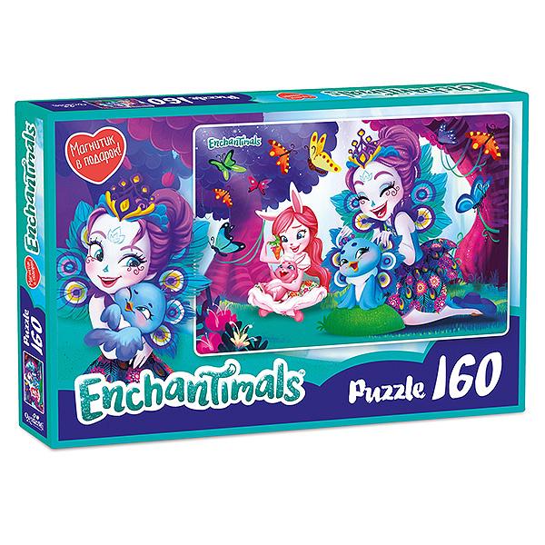 Enchantimals AST188872 Пазл Пэттер и Бри 160 элементов - Настольные игры