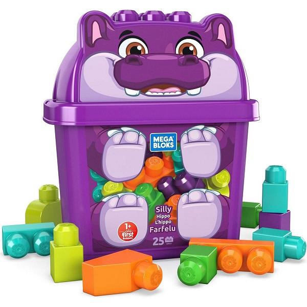 Купить Mattel Mega Bloks GRV21 Мега Блокс Конструктор Животные Лягушонок , Конструкторы Mattel Mega Bloks