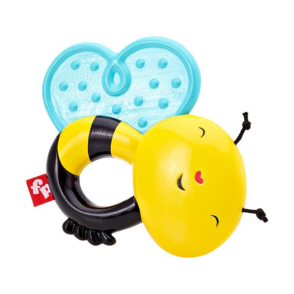 Купить Mattel Fisher-Price DFR15 Фишер Прайс Прорезыватель Пчелка, Развивающие игрушки для малышей Mattel Fisher-Price