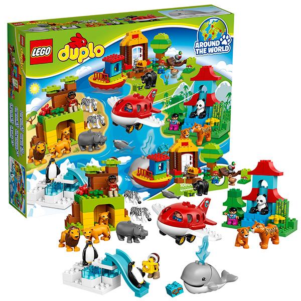 Lego Duplo 10805 Конструктор Лего Дупло Вокруг света: В мире животных, арт:126582 - Дупло, Конструкторы LEGO