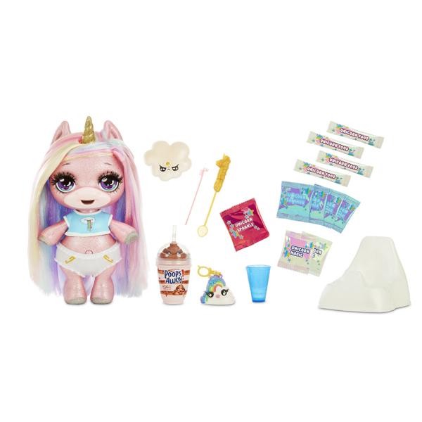 Игровые наборы и фигурки для детей Poopsie Surprise Unicorn 561132 Единорог блестящий Розовый фото