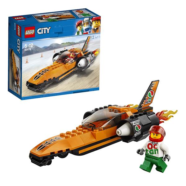 Купить Lego City 60178 Лего Город Гоночный автомобиль, Конструкторы LEGO
