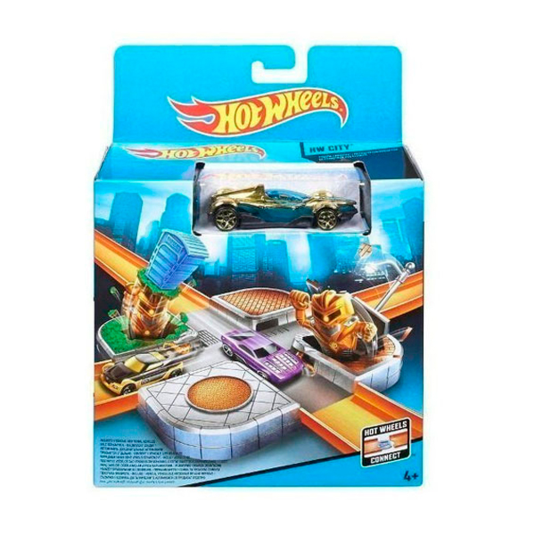 Купить Mattel Hot Wheels CDM44 Хот Вилс Стартовый набор трасс, Игровой набор Mattel Hot Wheels