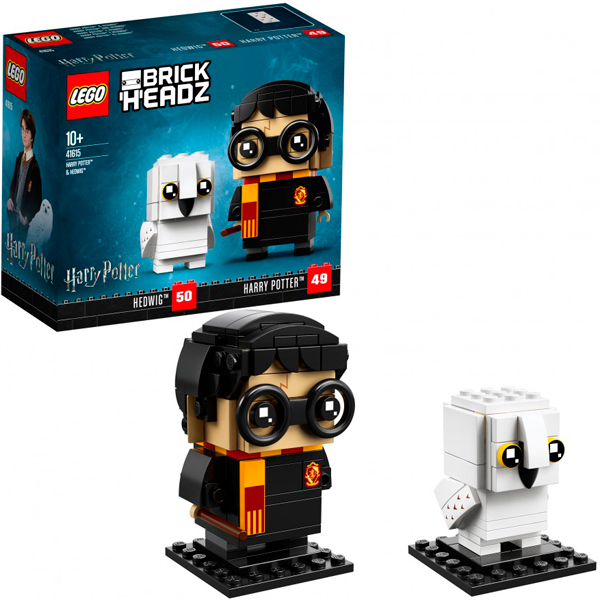 Lego BrickHeadz 41615 Конструктор Лего БрикХедз Гарри Поттер и Хедвиг, арт:154823 - BrickHeadz, Конструкторы LEGO