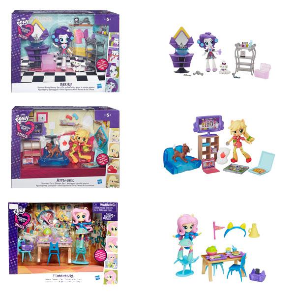Купить Hasbro My Little Pony B4910 Equestria Girls Игровой набор для мини-кукол (в ассортименте), Кукла Hasbro Equestria Girls