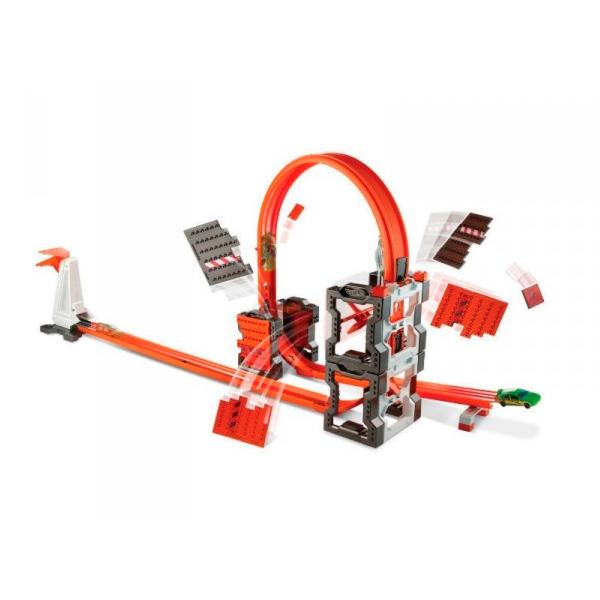 Купить Mattel Hot Wheels DWW96 Хот Вилс Конструктор трасс: взрывной набор, Игровой набор Mattel Hot Wheels