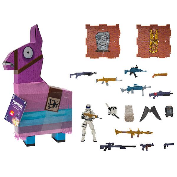 Игровые наборы Fortnite FNT0255 Лама-пиньята с аксессуарами (Overtaker) фото