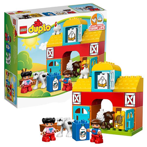 Lego Duplo 10617 Конструктор Лего Дупло Моя первая ферма