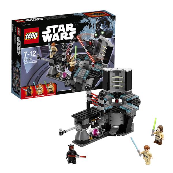 Купить Lego Star Wars 75169 Лего Звездные Войны Дуэль на Набу, Конструктор LEGO