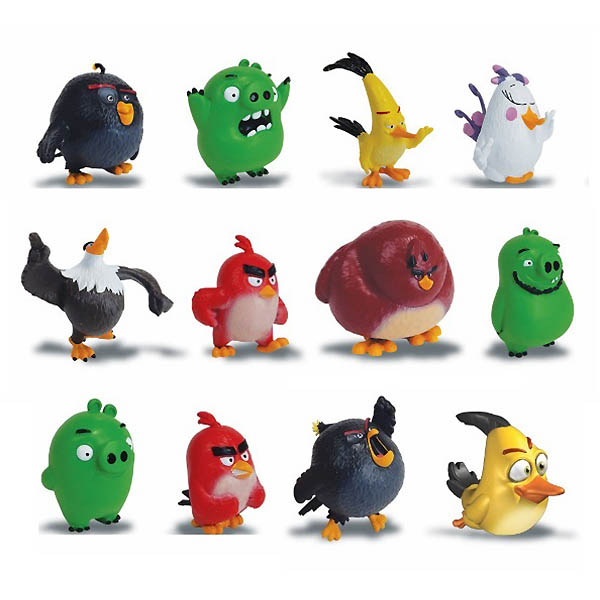 Angry Birds 90501 Энгри Бердс Коллекционная фигурка Сердитая птичка в ассортименте