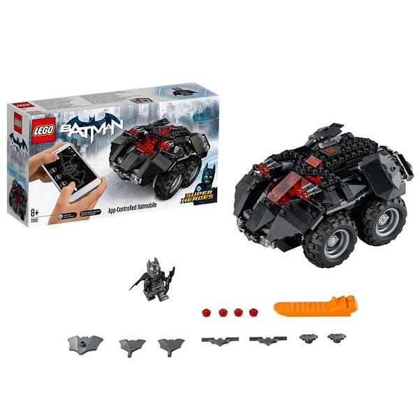 Купить LEGO Super Heroes 76112 Конструктор ЛЕГО Супер Герои Бэтмобиль с дистанционным управлением, Конструкторы LEGO