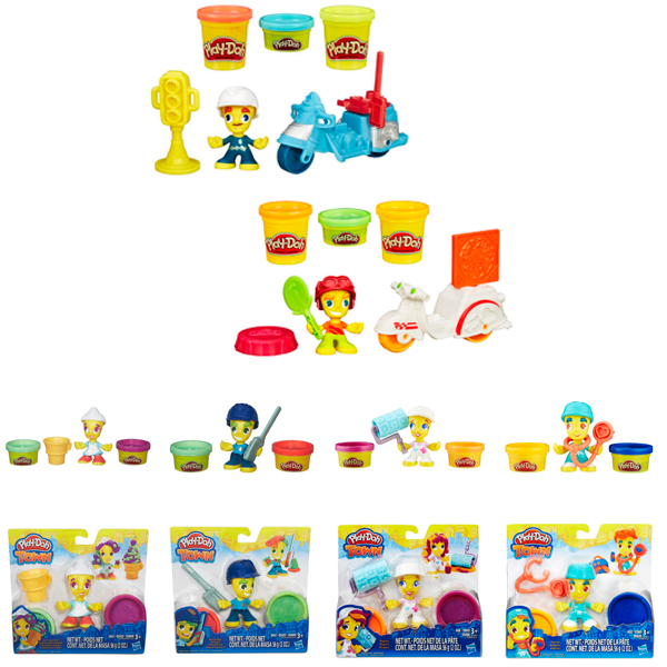 Hasbro Play-Doh B5959N Игровой набор Транспортные средства + фигурки - Мини наборы, артикул:151469