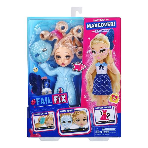 FailFix 38192 ФейлФикс Игровой набор кукла 2 в1 Преппипош с аксессуарами по цене 2 999