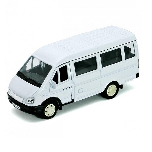 Купить Welly 42387A Велли Модель машины 1:34-39 ГАЗель пассажирская, Машинка Welly