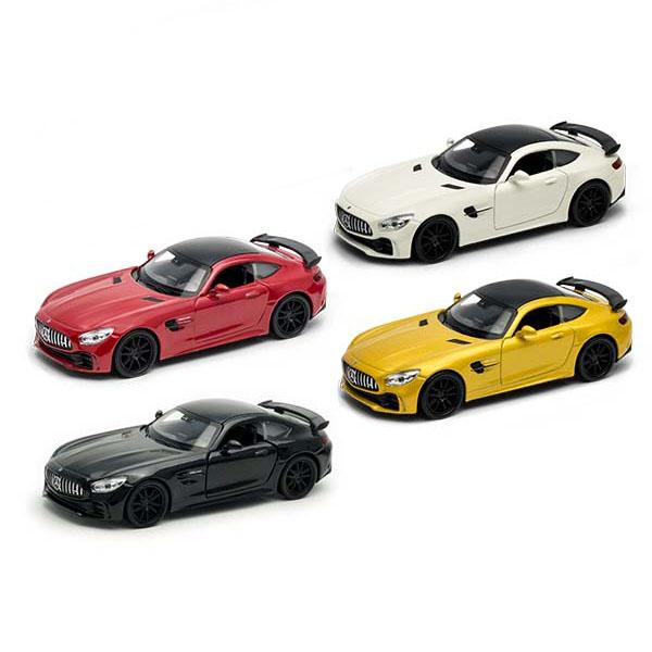 Купить Welly 43747 Велли Модель машины 1:38 Mercedes-Benz AMG GT R, Игрушечные машинки и техника Welly