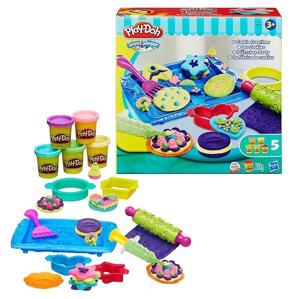 Купить Hasbro Play-Doh B0307 Игровой набор Магазинчик печенья , Набор для творчества Hasbro Play-Doh