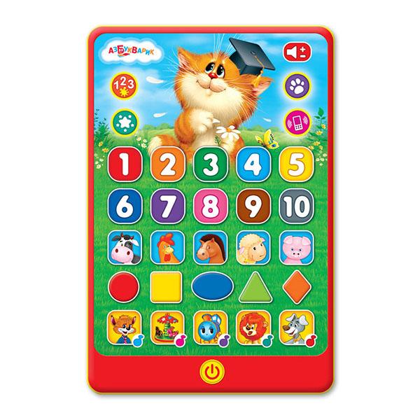 """Музыкальная игрушка Азбукварик Азбукварик 1994 Игровой планшетик """"Веселые знания"""" по цене 429"""