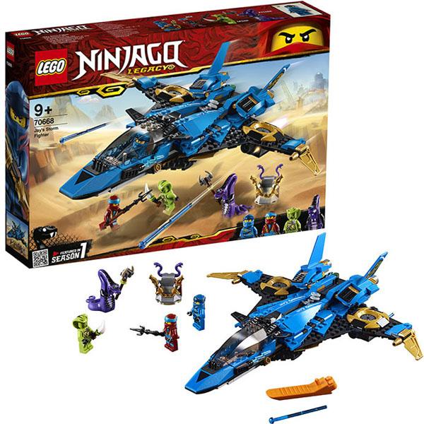 Купить Lego Ninjago 70668 Конструктор Лего Ниндзяго Штормовой истребитель Джея, Конструкторы LEGO