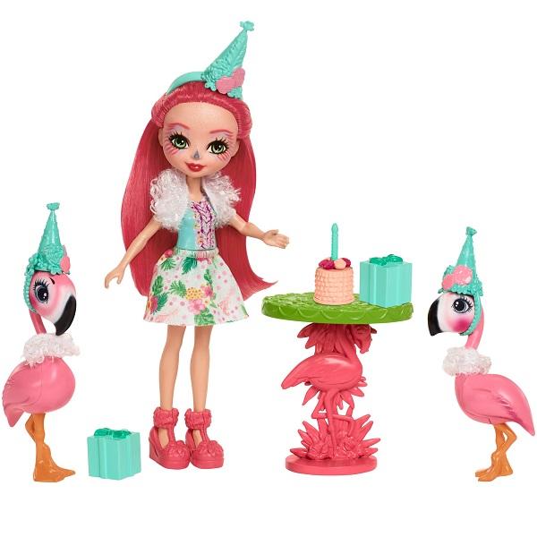 Купить Mattel Enchantimals FCG79 Игровой набор Праздник Фламинго , Игровые наборы Mattel Enchantimals