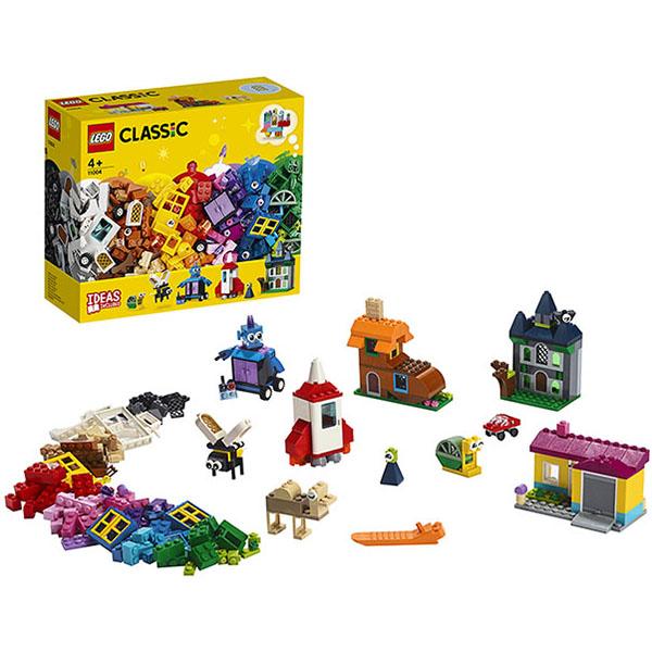 Купить LEGO Classic 11004 Конструктор ЛЕГО Классик Набор для творчества с окнами, Конструктор LEGO