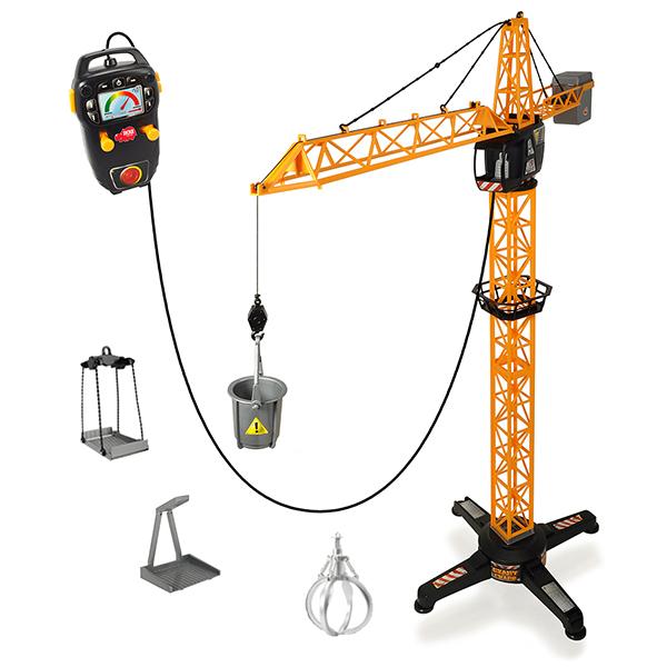 Радиоуправляемая игрушка Simba 3462411SI1 Кран 100 см (на д/у, платформа, клешни) фото