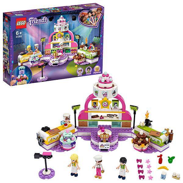 Конструкторы LEGO — LEGO Friends 41393 Конструктор ЛЕГО Подружки Соревнование кондитеров