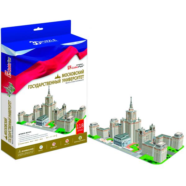 3D пазлы Cubic Fun - 3D пазлы, артикул:40310