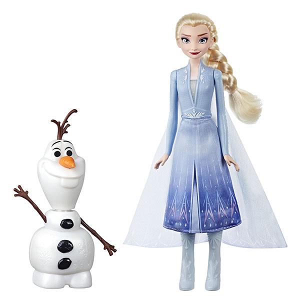 Купить Hasbro Disney Princess E5508 Игровой набор ХОЛОДНОЕ СЕРДЦЕ 2 Эльза и Олаф, Куклы и пупсы Hasbro Disney Princess