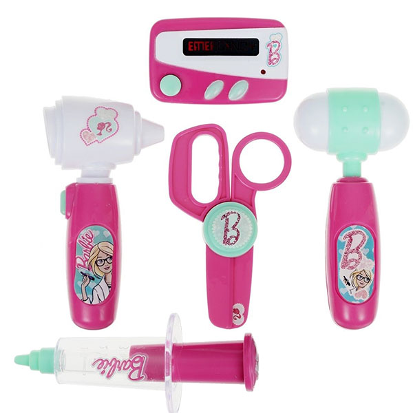 Купить Corpa D122A Игровой набор юного доктора Barbie компактный, Игровой набор Copra