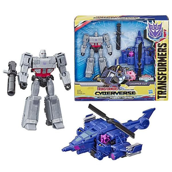 Игровые наборы и фигурки для детей Hasbro Transformers E4220/E4327 Трансформеры Спарк Армор Мегатрон 18 см фото