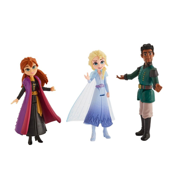 Купить Hasbro Disney Princess E5504/E6912 ХОЛОДНОЕ СЕРДЦЕ 2 Делюкс Эльза, Анна и Маттиас, Фигурка Hasbro Disney Princess