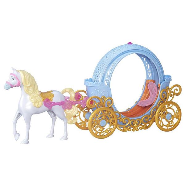 Купить Hasbro Disney Princess B6314 Трасформирующаяся карета Золушки (кукла не входит в набор), Игровой набор Hasbro Disney Princess