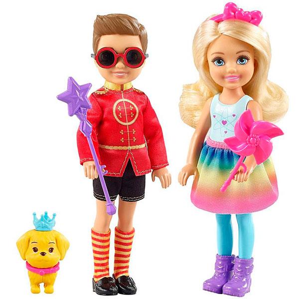 Mattel Barbie FRB14 Барби Челси и Нотто - Куклы и аксессуары
