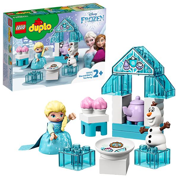 Купить LEGO DUPLO 10920 Конструктор ЛЕГО ДУПЛО Дисней Чаепитие у Эльзы и Олафа, Конструкторы LEGO
