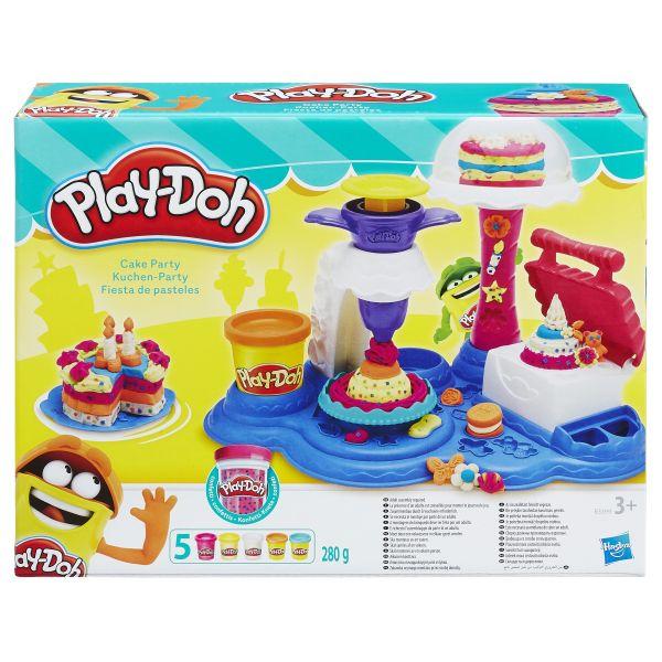 """Hasbro Play-Doh B3399 Игровой набор """"Сладкая вечеринка"""", Пластилин Hasbro Play-Doh  - купить со скидкой"""