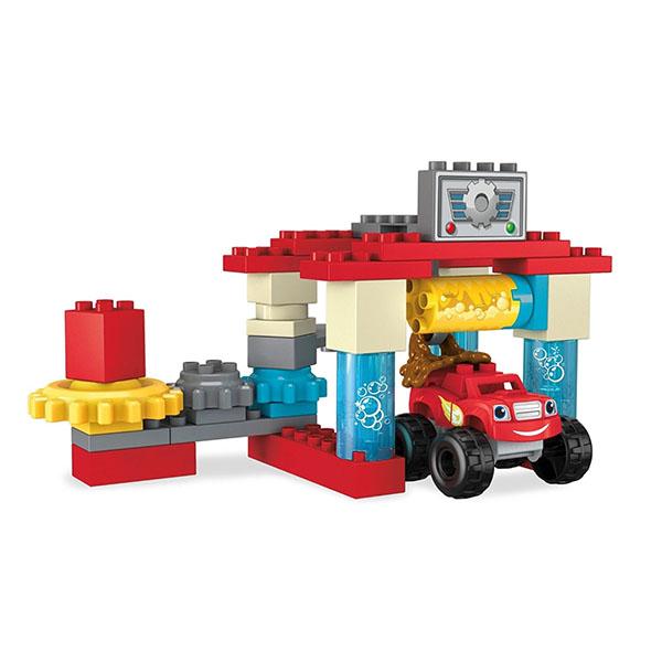 Купить Mattel Mega Bloks DXF24 Мега Блокс Вспыш: автомобильная мойка, Конструктор Mattel Mega Bloks