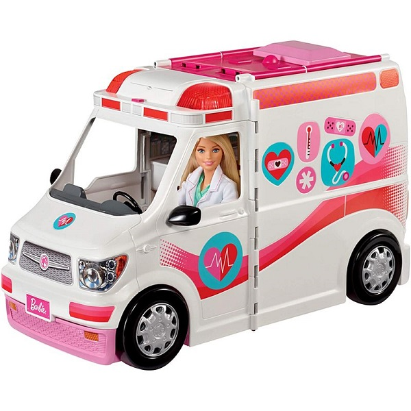 Mattel Barbie FRM19 Барби Машина скорой помощи, арт:154678 - Barbie, Куклы и аксессуары