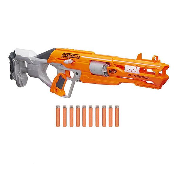 Купить Hasbro Nerf B7784 Нерф Бластер Аккустрайк Альфахок, Игрушечное оружие Hasbro Nerf