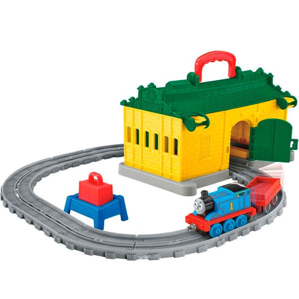 Железная дорога Mattel Thomas & Friends - Железные дороги и паровозики, артикул:153225