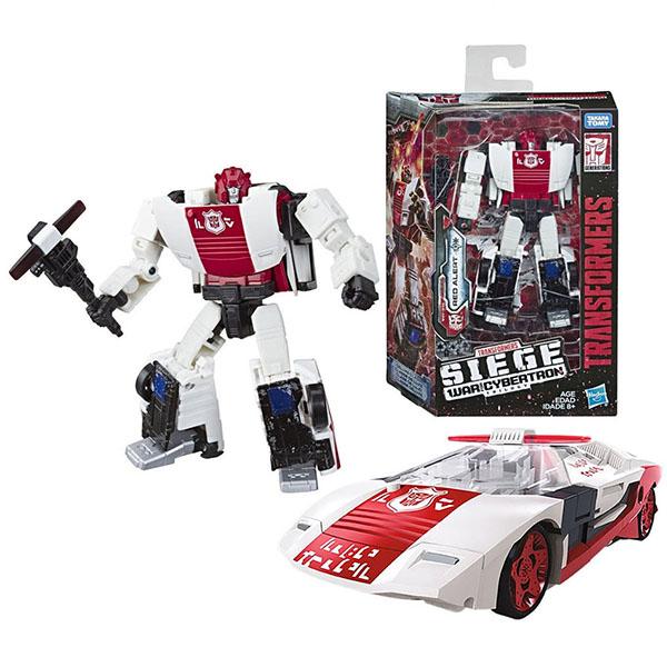 Игрушечные роботы и трансформеры Hasbro Transformers E3432/E4496 Трансформеры ДЕЛЮКС Ред Алерт фото