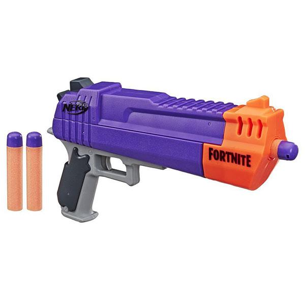 Купить Hasbro Nerf E7515 Нерф бластер Фортнайт Револьвер, Игрушечное оружие и бластеры Hasbro Nerf