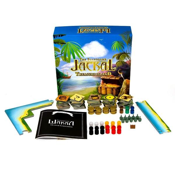 Magellan MAG00404 Настольная игра Шакал:остров сокровищ - Настольные игры