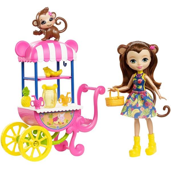 Купить Mattel Enchantimals FCG93 Игровой набор Фруктовая корзинка , Игровые наборы Mattel Enchantimals