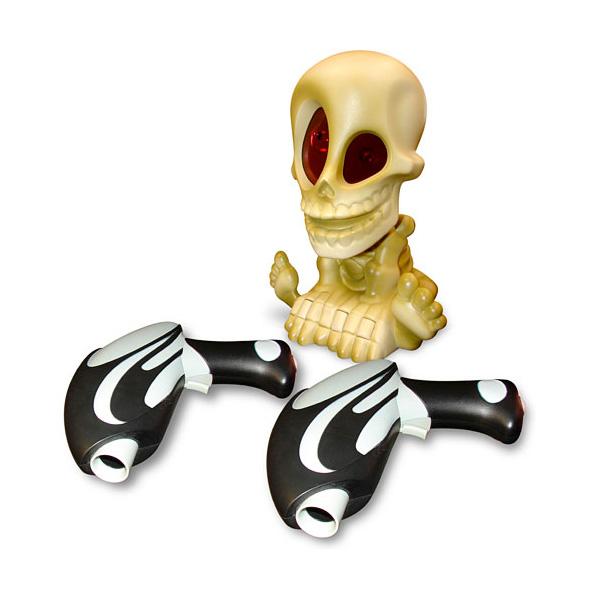 Купить Johnny the Skull 0669-2 Проектор Джонни Череп с двумя бластерами, Интерактивная игра Johnny the Skull
