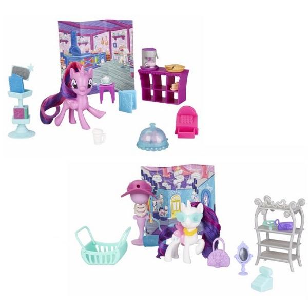 Купить Hasbro My Little Pony E4967 Май Литл Пони Игровой набор Возьми с собой (в ассортименте), Игровые наборы и фигурки для детей Hasbro My Little Pony